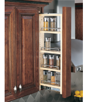 "RAS 3"" Wall Filler Pull-Out with Adjustable Shelves"